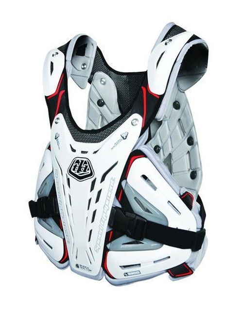 Troy Lee Designs/Shock Doctor BG5900 Chest Protector White