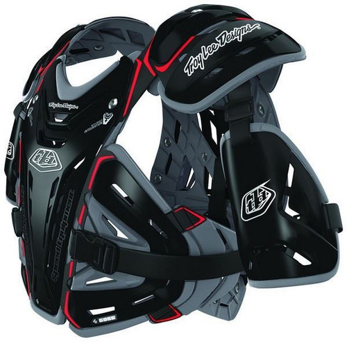Troy Lee Designs/Shock Doctor BG5955 Chest Protector Black