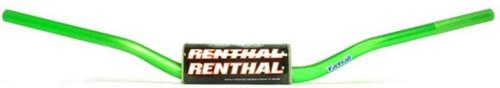 """Renthal 1 1/8"""" 604 Bend Fat Handlebar RC/Roczen Green"""