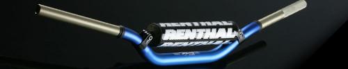 "Renthal 1 1 /8"" 996 Bend Twinwall Handlebars Stewart Blue"