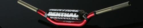 "Renthal 1 1 /8"" 996 Bend Twinwall Handlebars Stewart Red"