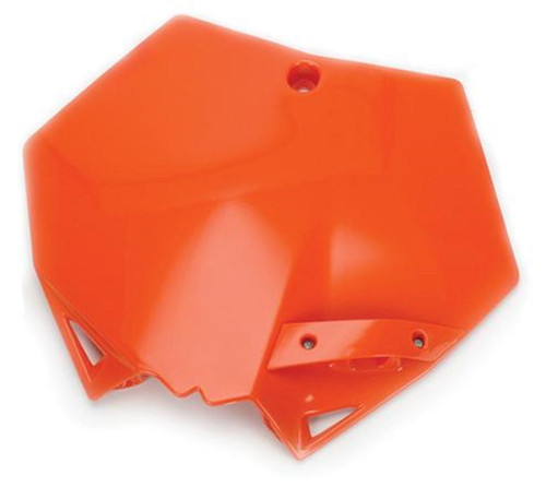 Cycra Front Number Plate KTM 125 UP SXF/XCF/SX/XC 07-12 Orange