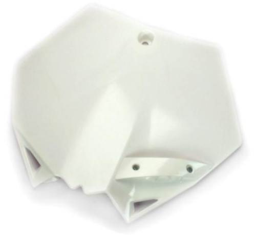 Cycra Front Number Plate KTM 125 UP SXF/XCF/SX/XC 07-12 White