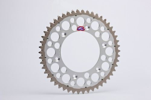 Renthal Twinring Rear/Back 49T/Tooth Silver Sprocket KTM/Husqvarna 125 up