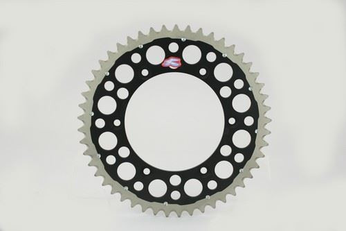Renthal 150/520 49T/Tooth Rear Twinring Sprocket Black Yamaha YZ/YZF