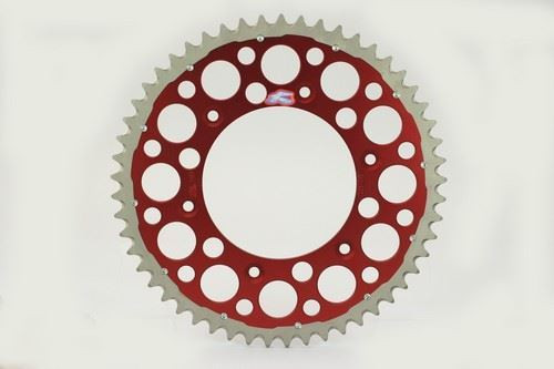 Renthal 150/520 50T/Tooth Rear Twinring Sprocket Red Honda CR/CRF