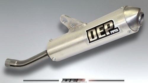 DEP DEPH2111 2 Stroke/2T Front Exhaust Pipe Honda CR125 1998-99