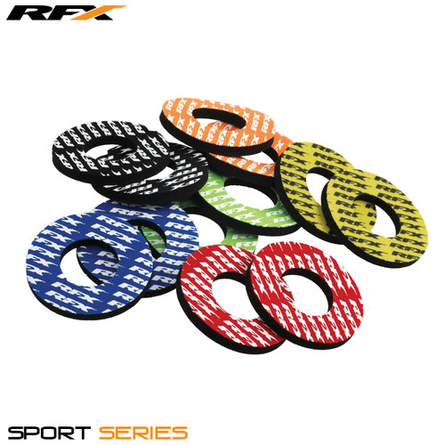 RFX Sport Grip Donuts (Orange) Pair