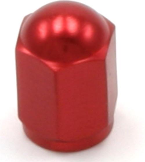 DRC Aluminium Valve Caps 2-pack Red