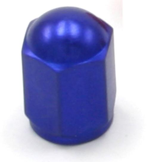 DRC Aluminium Valve Caps 2-pack Blue