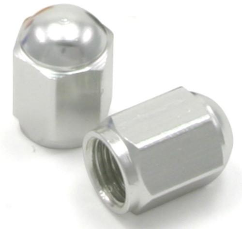 DRC Aluminium Valve Caps 2-pack Silver