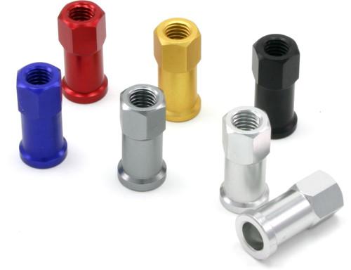 DRC Rim locknuts, pack of 2 - titanium