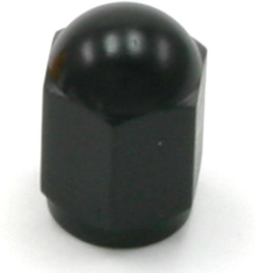 DRC Aluminium Valve Caps Pack Of 2 Black