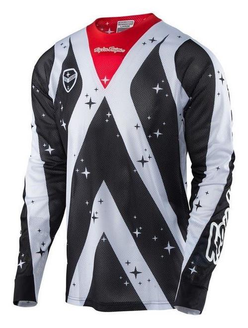2017 Troy Lee Designs SE Air Jersey Phantom White/Black