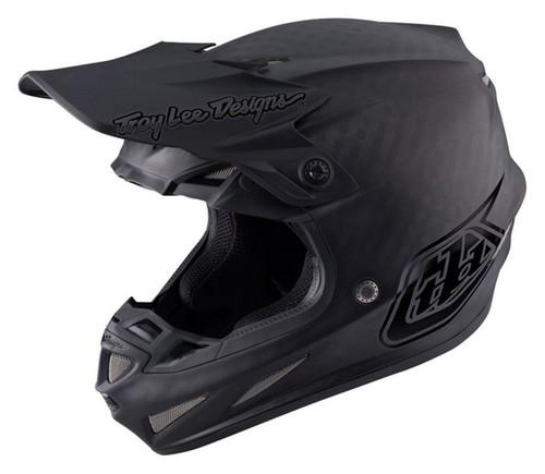 2017 Troy Lee Designs TLD SE4 Carbon Helmet Midnight Black