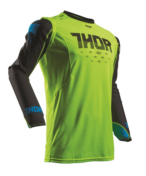 2017 Thor Prime-Fit Jersey Rohl Green/Black