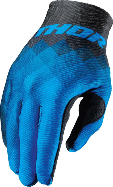 2017 Thor Invert Gloves Pix Blue