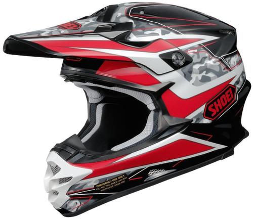 Shoei VFX-W Turmoil TC1 Red