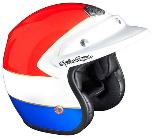 Troy Lee Designs TLD Open Face Wing Helment Red/Blue