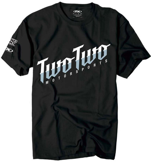 Factory Effex FX Two Two Text T-Shirt Black