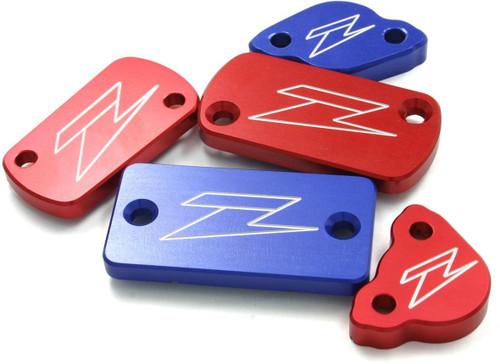 ZETA Front brake reservoir cover Honda XR / DRZ / CRF250L red