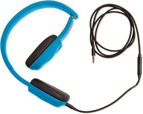 Outdoor Tech Bajas - Wired Headphones - Electric Blue