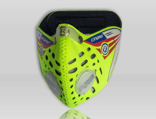 Respro Cinqro mask flo yellow medium