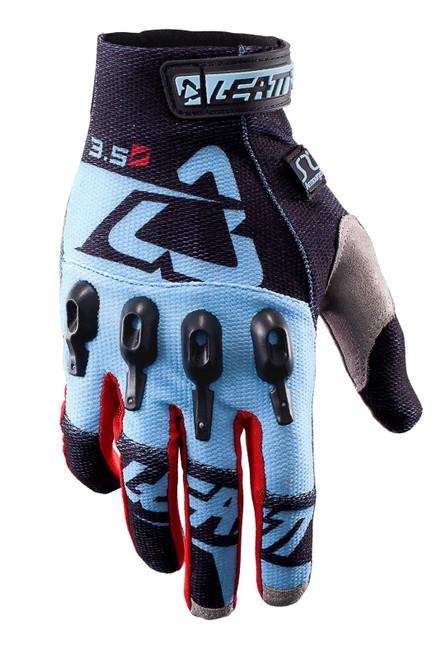 2017 Leatt GPX 3.5 Lite Gloves Black/Blue
