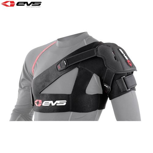 EVS SB04 Shoulder Stabiliser Inc Protection Cup Black