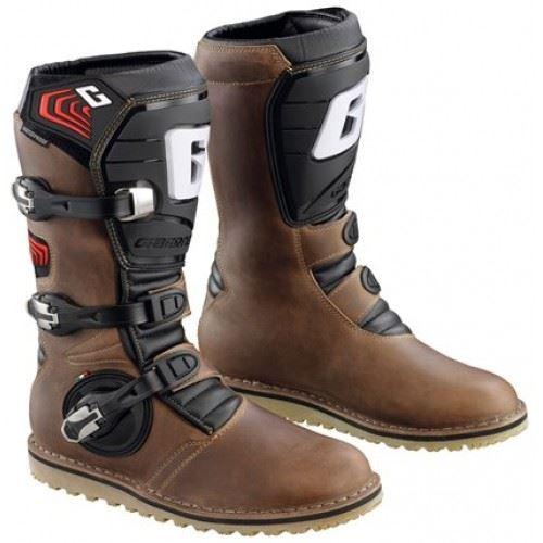 Gaerne Near Brown/Black Trials Boots