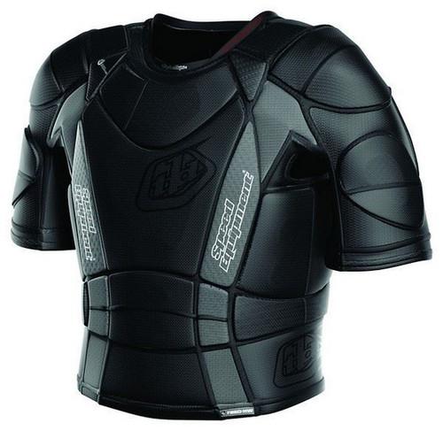 Troy Lee Designs Youth UPS7850 Short Sleeved MX Shirt Black