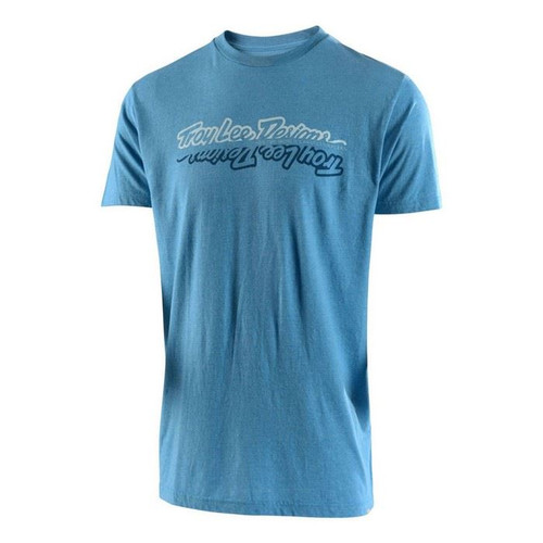 Troy Lee Designs TLD All Time T-Shirt Sky Blue Heather