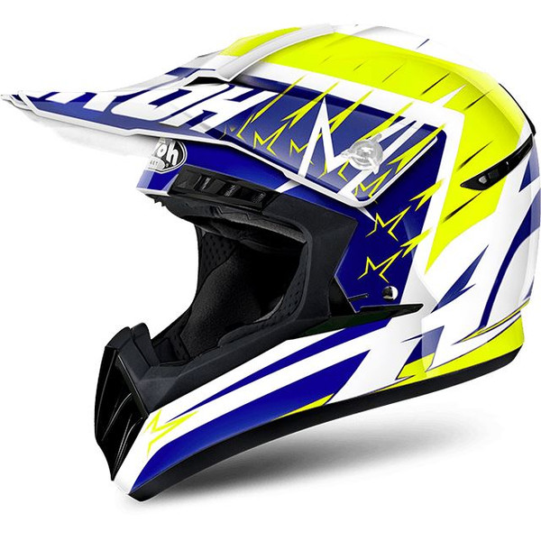 Airoh Switch MX Helmet Startruck Yellow