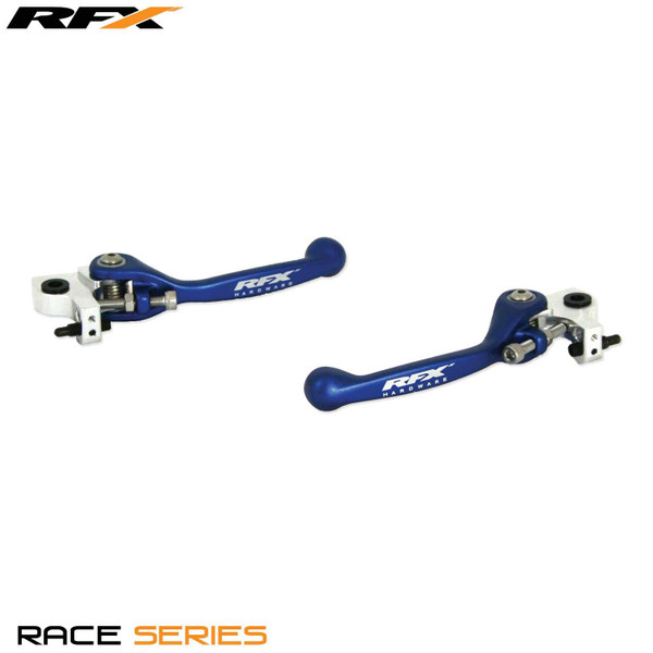 RFX Race Forged Flexible Lever Set (Blue) Husaberg TE250/300 11-13 FE450 13 FE250/350 2013