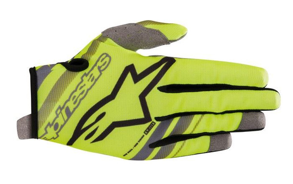 2019 Alpinestars Youth Radar Gloves Yellow Flo/Black