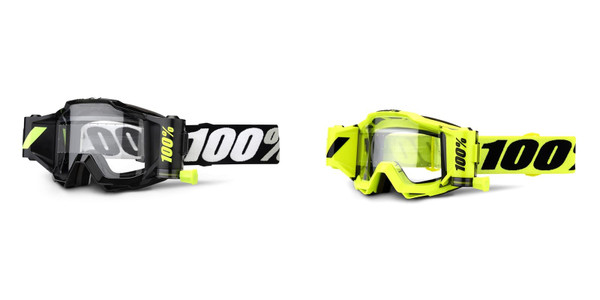100% Accuri Forecast MX Goggles w/45mm Film System