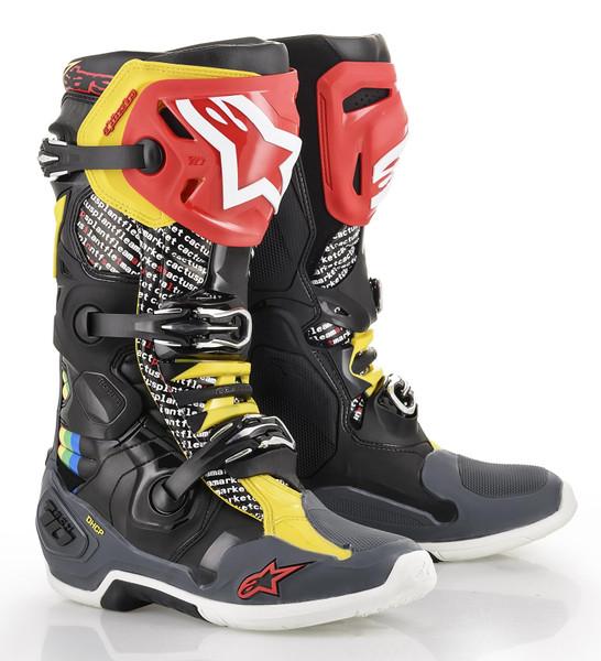 Alpinestars Tech 10 Motocross Boots Limited Edition Cactus