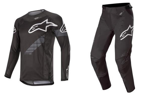 2020 Alpinestars Techstar Men's Adult MX Combo Gear Graphite Black/Anthracite