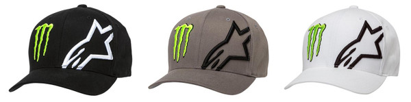 Alpinestars Men's Adult Casual Monster Energy Cap