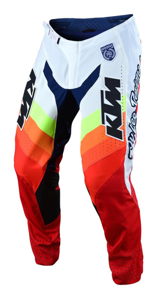2019 Troy Lee Designs TLD SE Pro Fall Men's Adult MX Pant Mirage White/Red