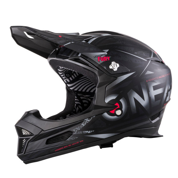 O'Neal Mountain Bike Helmet Fury RL Synthy Black