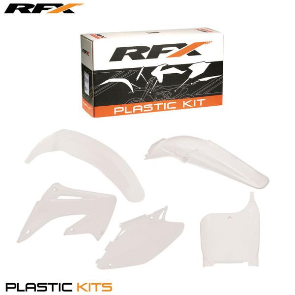 RFX Plastic Kit Honda (White) CR125-250 02-03 (5 Pc Kit)