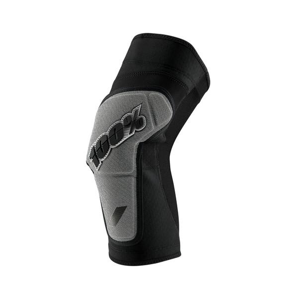 100% Ridecamp Knee Guard Black/Grey