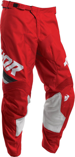 Thor MX Pant 2020 Pulse Pinner Red