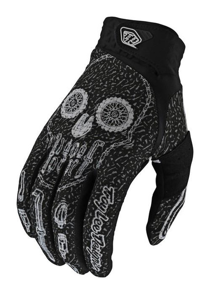 TLD MX Gloves Air LE Gear Head Black