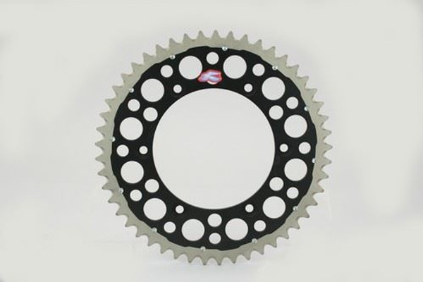 Renthal 150/520 50T/Tooth Rear Twinring Sprocket Black Yamaha YZ/YZF
