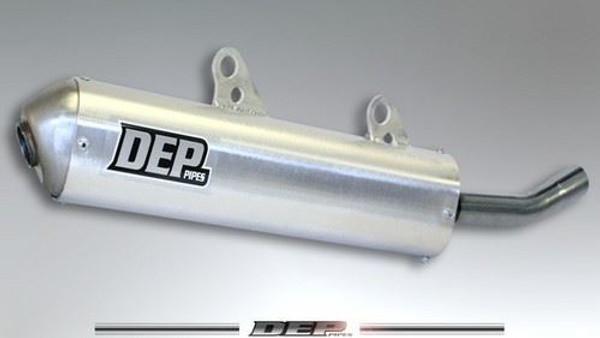 DEP DEPH2107 2 Stroke/2T Exhaust Silencer Honda CR125 1989-90