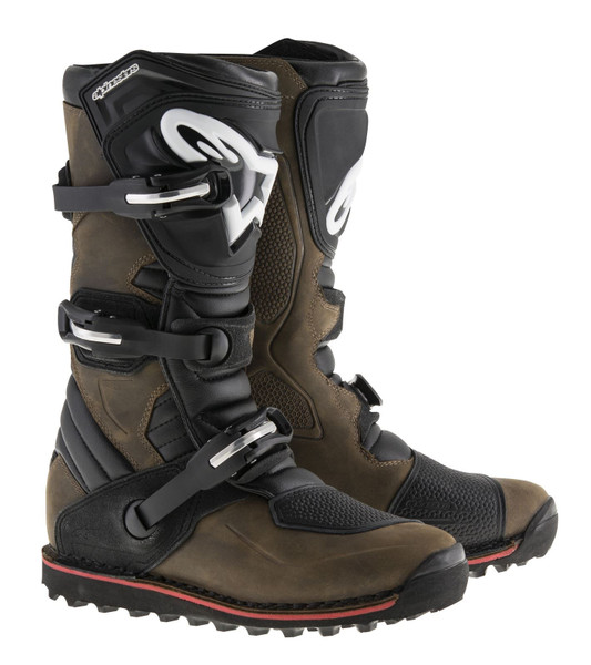 Alpinestars Tech T Boots Brown Oiled