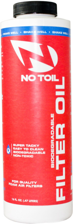 No-Toil Air Filter Oil 16oz
