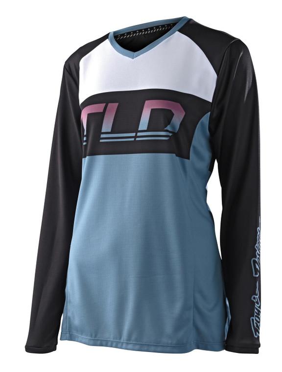 TLD 2021 Womens GP MX Jersey Icon Smokey Blue
